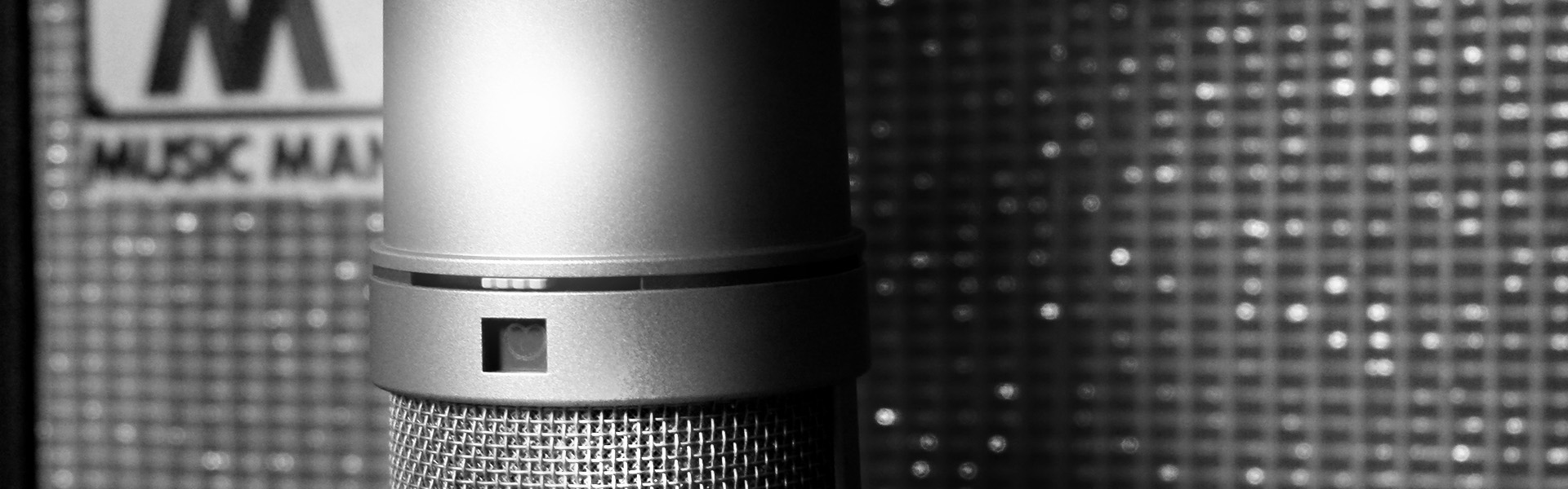 Audio recording using the trusted Neumann U87 Ai