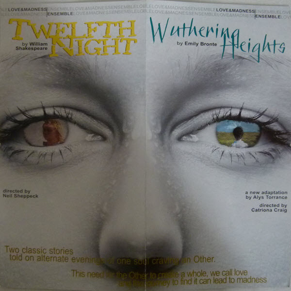 "Flyer for ""Wuthering Heights"" a novel by Emily Bronte"